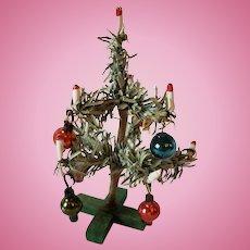 Vintage Dollhouse Miniature Paper Christmas Tree