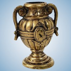 Ornate Ormolu Vase For The Dollhouse