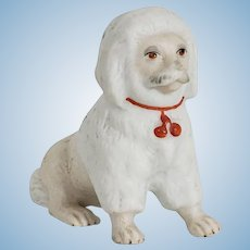 Victorian Dollhouse Dog, Amazing Face