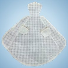Fashion Doll French Pin On Apron With Pockets