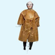 "Antique German Mutton Chop 6- 1/4"" Dollhouse Gentleman Original Butcher Outfit"