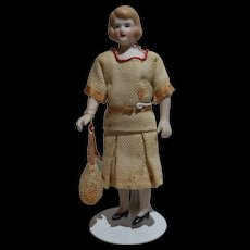 "Great Dollhouse Doll 4 3/4"" Tennis Tournament Director Costume"
