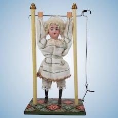 Fantastic German Bisque Doll Acrobat
