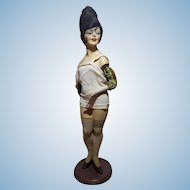 Amazing 1920s/ 30s Art Deco Mannequin Doll After Maurice Milliere