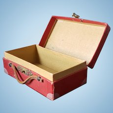Candy Container In The Form Of A Suitcase, Clothing Inside
