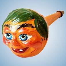 Vintage German Halloween Goblin Horn