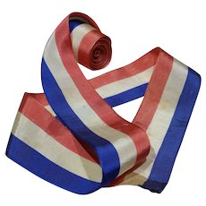 Vintage Patriotic Grosgrain Ribbon, 10'