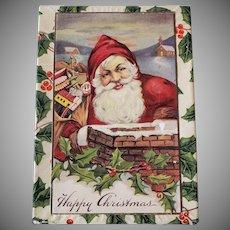Santa Holly Holiday Box