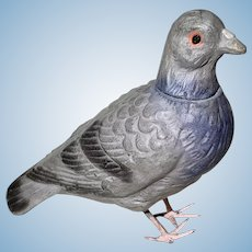 Vintage Pigeon Candy Container