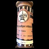 Vintage Silk Organdy Ribbon 150 yards Ombre