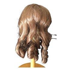 "Vintage Auburn Doll Wig size 11"" - 12"""