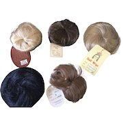 5 x Vintage Toddler/Baby Doll Wigs