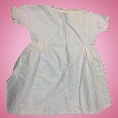Antique Childs White Cotton Dress