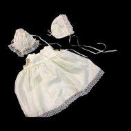 Dolls Petticoat & 2 Bonnets