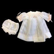 Small fine Muslin Smocked Dress
