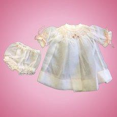 Small fine Muslin Smocked Dress