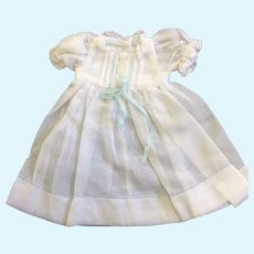 Small fine Muslin Dress Hand Embroidered