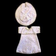 Lavender Bleuette Doll's Dress & Hat