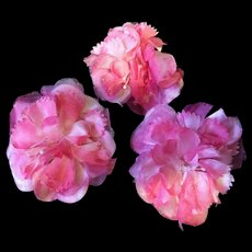 Pretty Pink Vintage Silk Flowers
