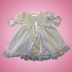 Beautiful Smocked Pale Blue Dress