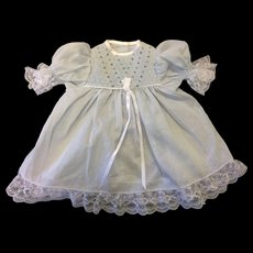 Beautiful Smocked Pale Blue Dress