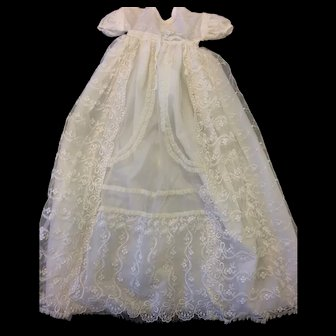 Beautiful Vintage Christening Gown