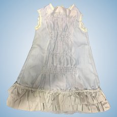Pale Blue Vintage French Bebe Dress