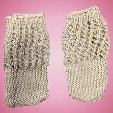 Small Pair Cotton Doll Socks