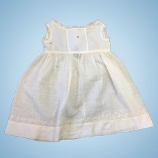 Antique Cream Childs Dress