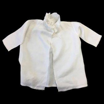 Antique Childs White Cotton Shirt