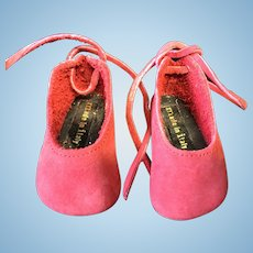 Italian made Leather Doll Shoes