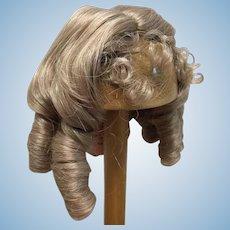 "Vintage 9-10"" Blonde Doll Wig"