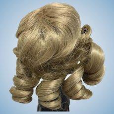 "Vintage Blonde Doll Wig 7-8"""
