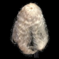 Blonde Mohair Doll Wig 5 - 6""