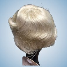 "Blonde Doll Wig 7-8"""