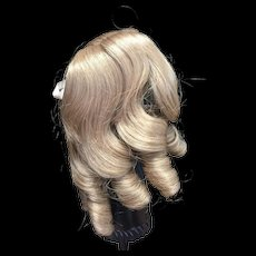 Lovely Blonde Doll Wig 9-10""