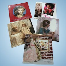 5 x Theriault's Doll Auction Catalogues