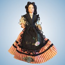 Lovely Original Celluloid French Doll