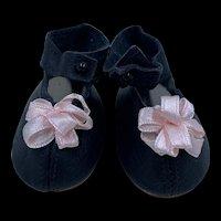 Vintage Pair Dolls Shoes