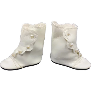 Vintage Doll Boots