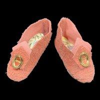 Vintage Pair Heeled Fashion Doll Shoes