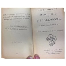 Wonderful Antique Encyclopedia of Needlework Book by TH De Dillmont