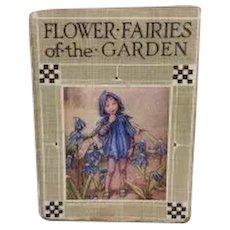 Vintage Flower Fairies of the Garden Book