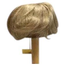 "Vintage Blonde Doll Wig 11"" - 12"""