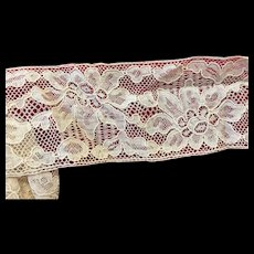 """Beautiful Old Lace 2 1/4"""" wide for Doll Costume"""