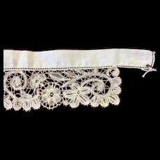 Antique Lace Collar for Doll Costume