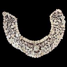 Antique Lace Collar Wonderful Condition
