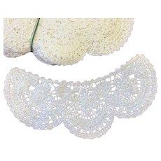 13 x Vintage Cotton Lace Collars