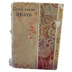 Miniature Poetry Book - Gems From Keats