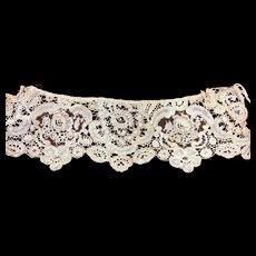 Exquisite Antique Victorian Lace Panel